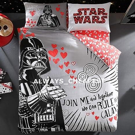 Copripiumino Matrimoniale Star Wars.Always Cheapest Star Wars San Valentino Set Copripiumino