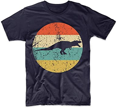 Camisa Tyrannosaurus Rex de Moda para Hombre - Retro Camiseta de algodón de Dinosaurio - T Rex Icon Shirt: Amazon.es: Ropa y accesorios