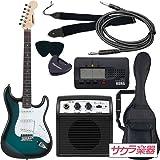 SELDER セルダー エレキギター ストラトキャスタータイプ ST-16/BLS 初心者入門ベーシックセット