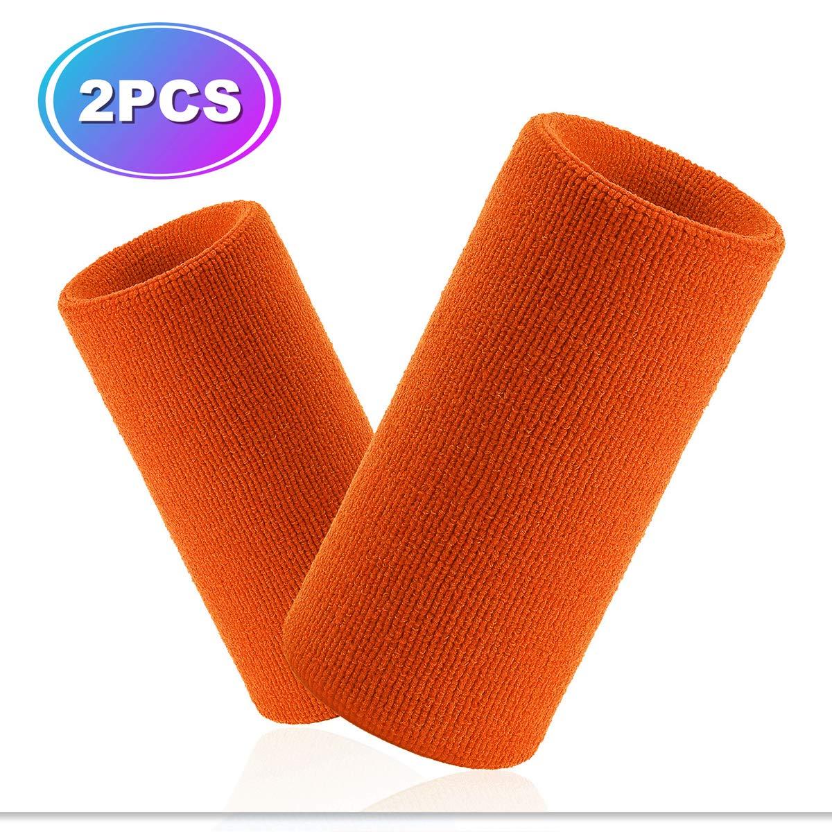 VENIMASEE Sport Spessa Braccialetto di Colore Solido con Cerniera//Portafoglio da Polso,18PCS Pack