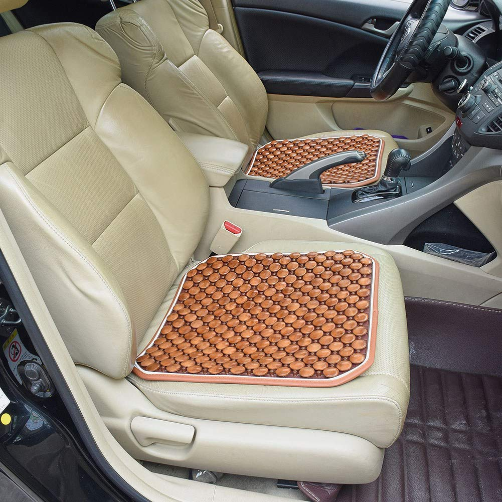 Coffee UR URLIFEHALL Massage Cool Comfort Cushion Anti-Slip Reduces Fatigue Seat Cushions for Auto Car Truck /& Office Chair Seat Cover