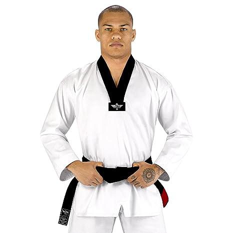 How to taekwondo wear white belt