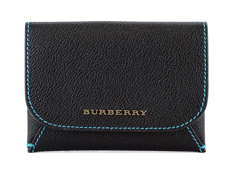 [バーバリー]BURBERRY カードケース 4067826 名刺入れ BLACK/MULTI [並行輸入品] B07C719LL7