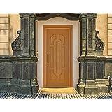 Masonite High Density Fiber wood 7 Panel Mumbaiya Door (32-inch Width)