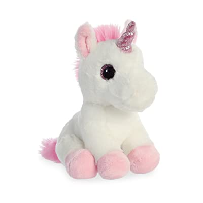 "Aurora - Sparkle Tales - 8"" Pink Unicorn: Toys & Games"