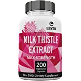 Milk Thistle - 200 Day Supply - 1000mg Max Strength 4:1 Extract