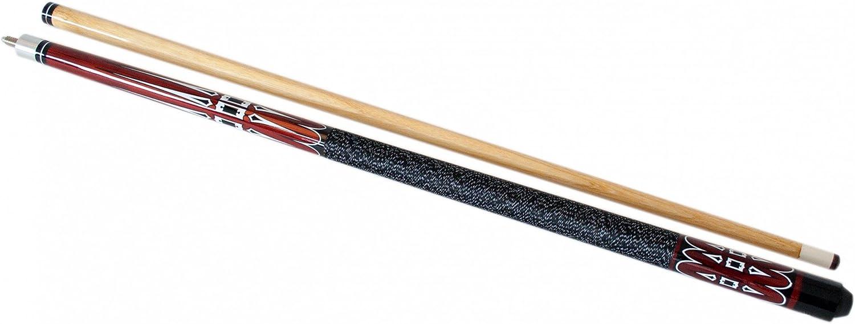 ToCi – de taco de billar madera, 146 cm de longitud, 2 piezas con rosca, Diverse disponibles.: Amazon.es: Hogar