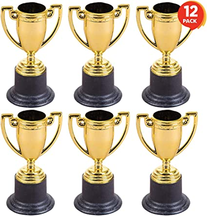 Small Classic Gold Cup Trophies Award 4 Inches