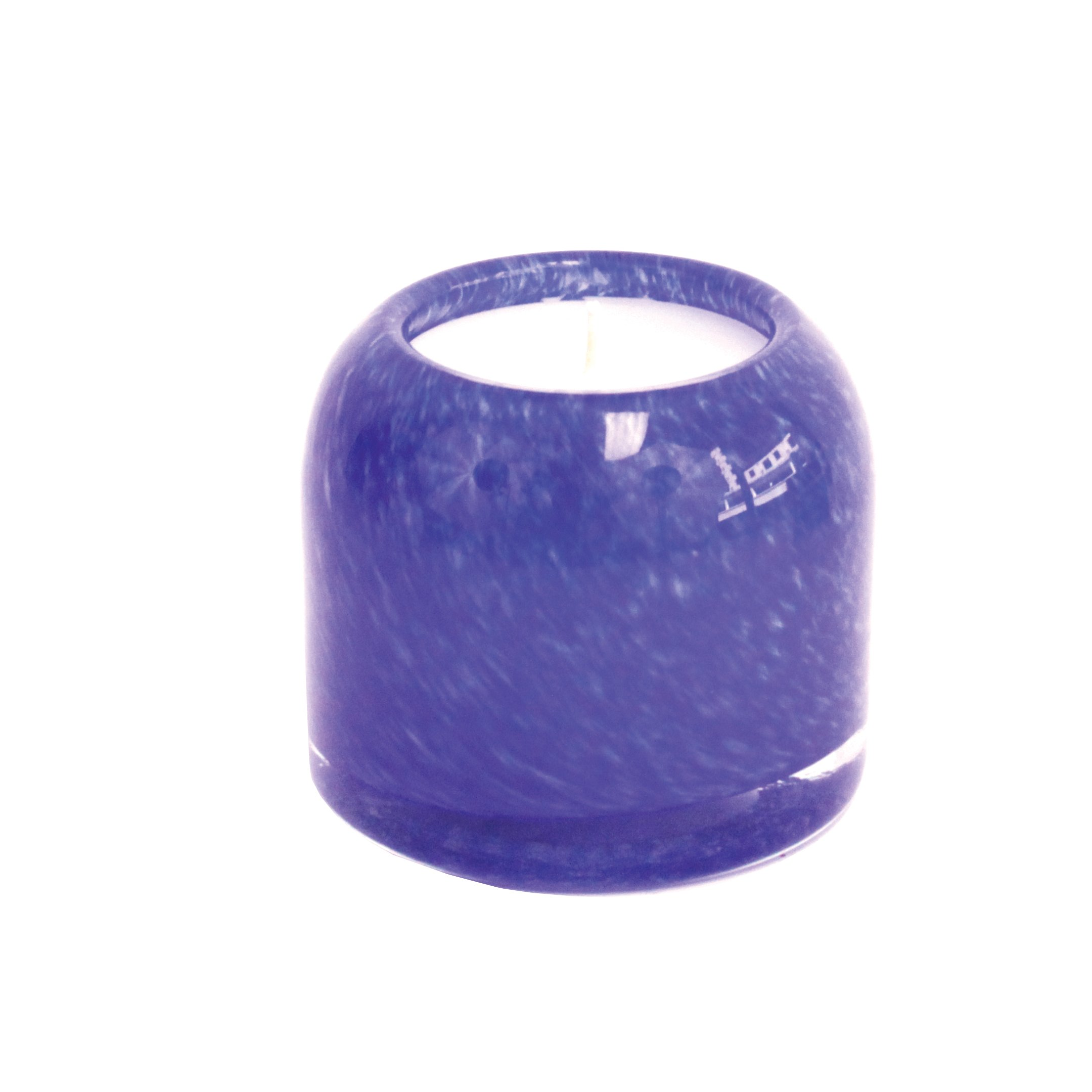 Alassis Collection No. 10 Small Scented Candle, Cobalt Water & Driftwood