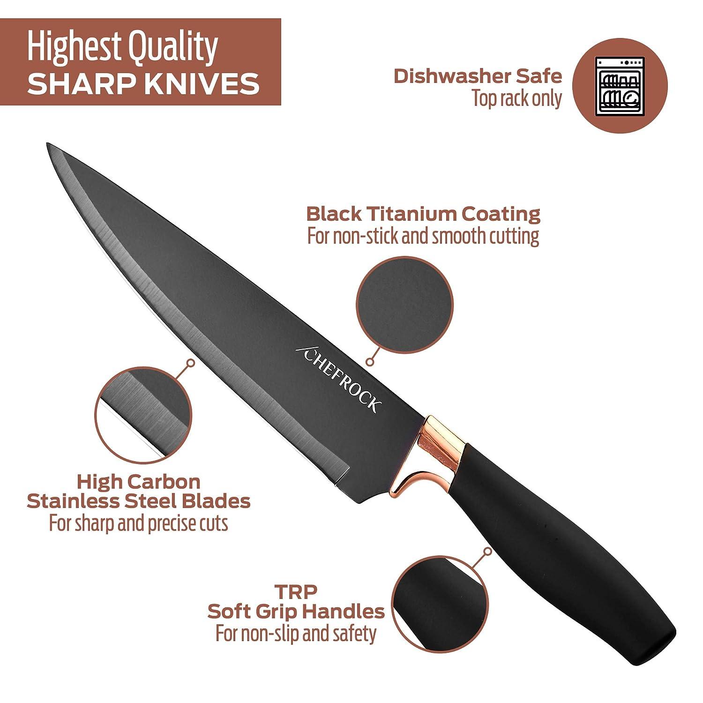 Amazon.com: Juego de cuchillos de cocina de 22 piezas ...