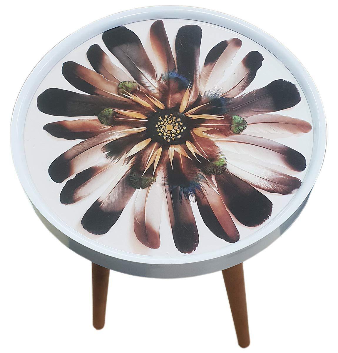 3er Set Design Beistelltisch Couchtisch Glas Ablage Tisch Holz