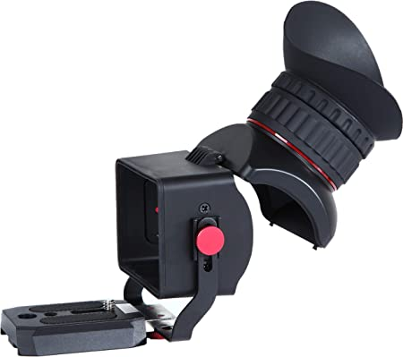 Movo Photo VF30-V2 Universal 3X LCD Video Viewfinder for Canon EOS Nikon Sony Alpha Olympus and Pentax DSLR Cameras