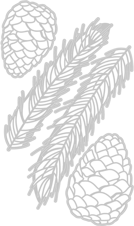 Pine Branch Tim Holtz Sizzix 664228 SIZZIX THINLITS Dies BRNCH
