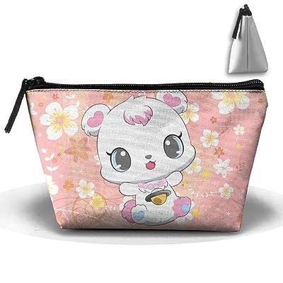 Necklace Cat High-capacity Storage Bag Multi-purpose Storage Bag Portable Bag Trapezoidal Storage Bag