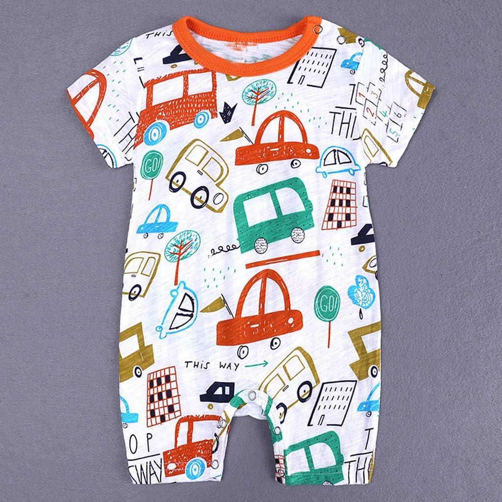 Divertido Pijama,K-Youth Caricatura Mameluco Bebe Recien Nacido Ropa Bebe Ni/ña Verano Pelele Bebe Ni/ño Body Bebe Bodies para Ni/ñas Ropa de Dormir Infantil Unisex Mono Beb/é Ni/ños