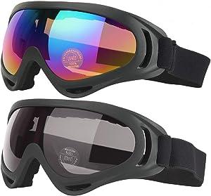 Ski Goggles, Motorcycle Goggles