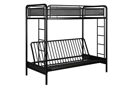 Amazoncom DHP Rockstar Metal Bunk Bed Frame Sturdy Metal Design