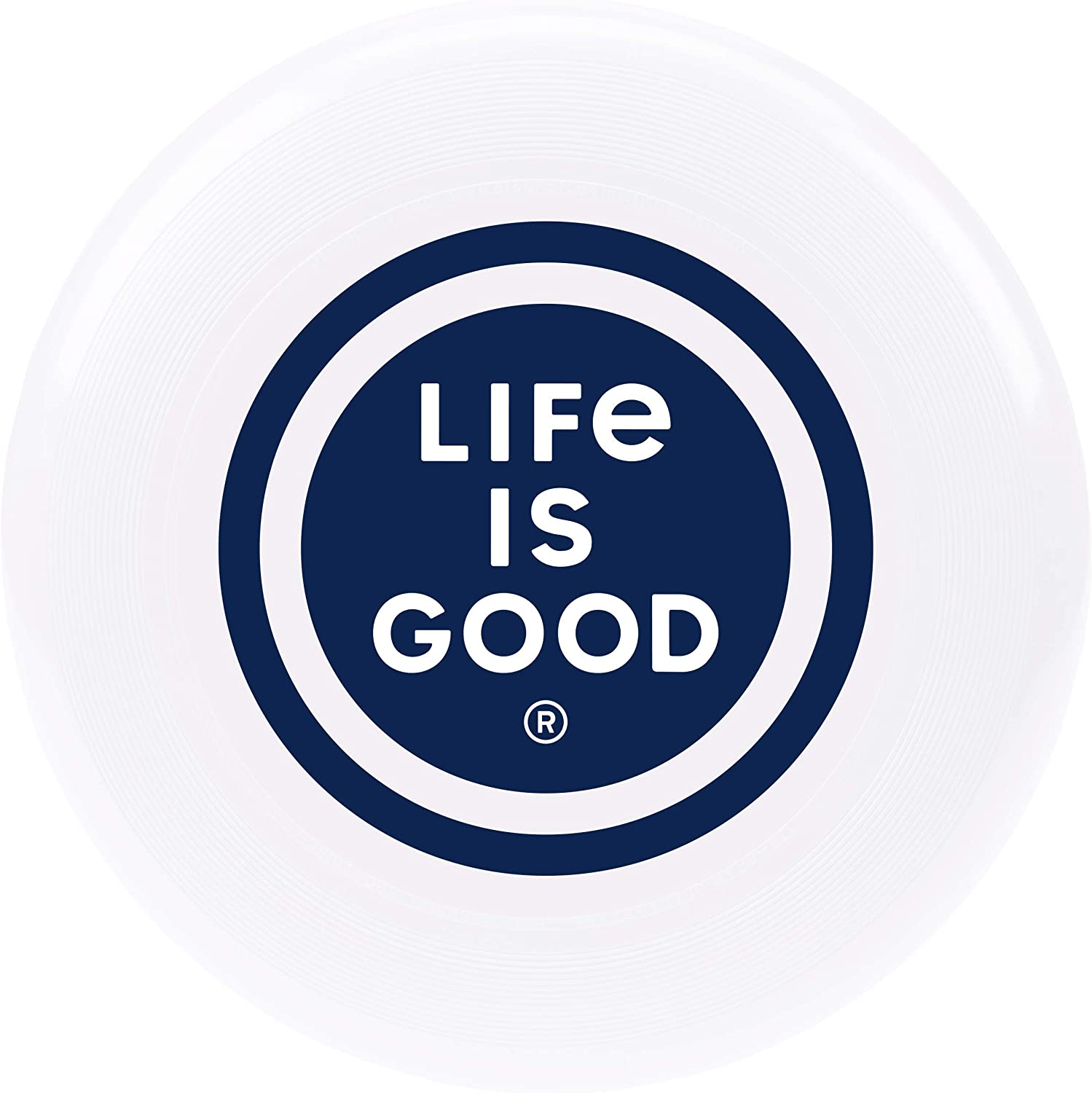 LIG Coin Cloud White Life is Good Frisbee Disc One Size