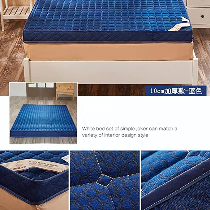 Amazon.com: LJ&XJ Thick tatami mat,Non-slip foldable memory foam tatami mattress non-slip bed mattress,Thickness 10cm no deformation-A Queen1: Kitchen & ...