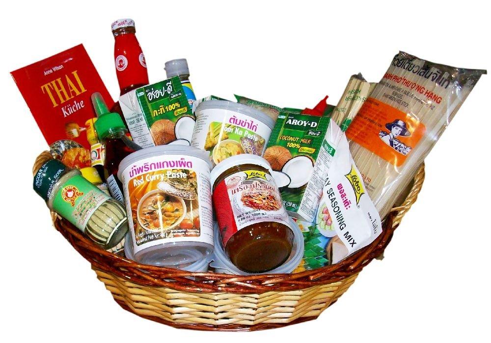 Thai Basic Geschenkpaket (Präsentkorb) - mit Korb - Thailand: Amazon ...