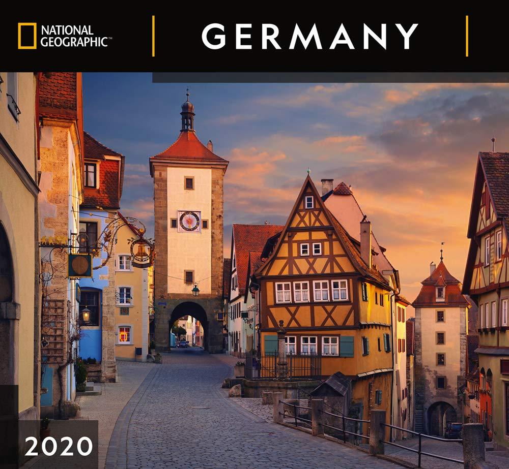 National Geographic Germany 2020 Wall Calendar: Zebra Publishing