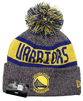 Image Unavailable. Image not available for. Colour  New Era Kids NBA Marl  Knit Beanie - Golden State Warriors 435ceac67e47
