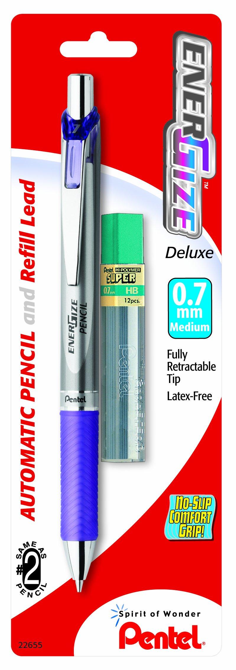 Pentel Energize automática Lápiz con plomo,0.7mm