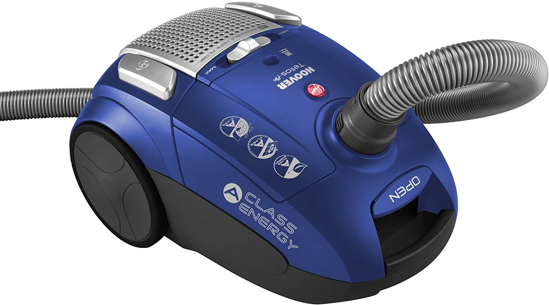 Hoover TE70_TE30 Aspirador con Bolsa, Clase A, 700 W, 85Dba, 3.5 litros, 83 Decibelios, Azul Java: Amazon.es: Hogar
