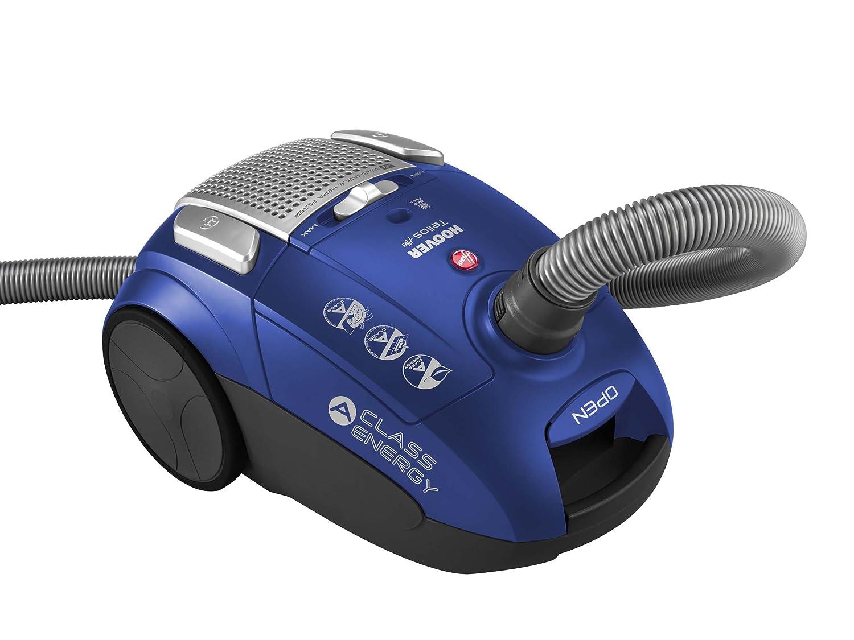 Hoover TE 30 Traino con Sacco Telios Plus, Blu Effetto Satinato [Classe di efficienza energetica A] TE70_TE30 39001124