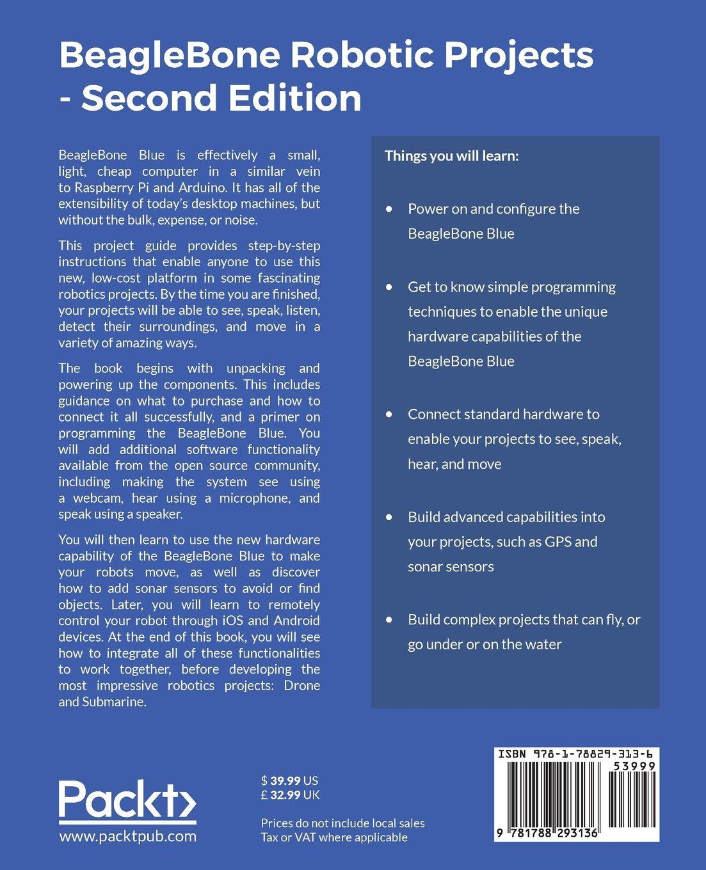 Beaglebone Robotic Projects Second Edition Build And Control