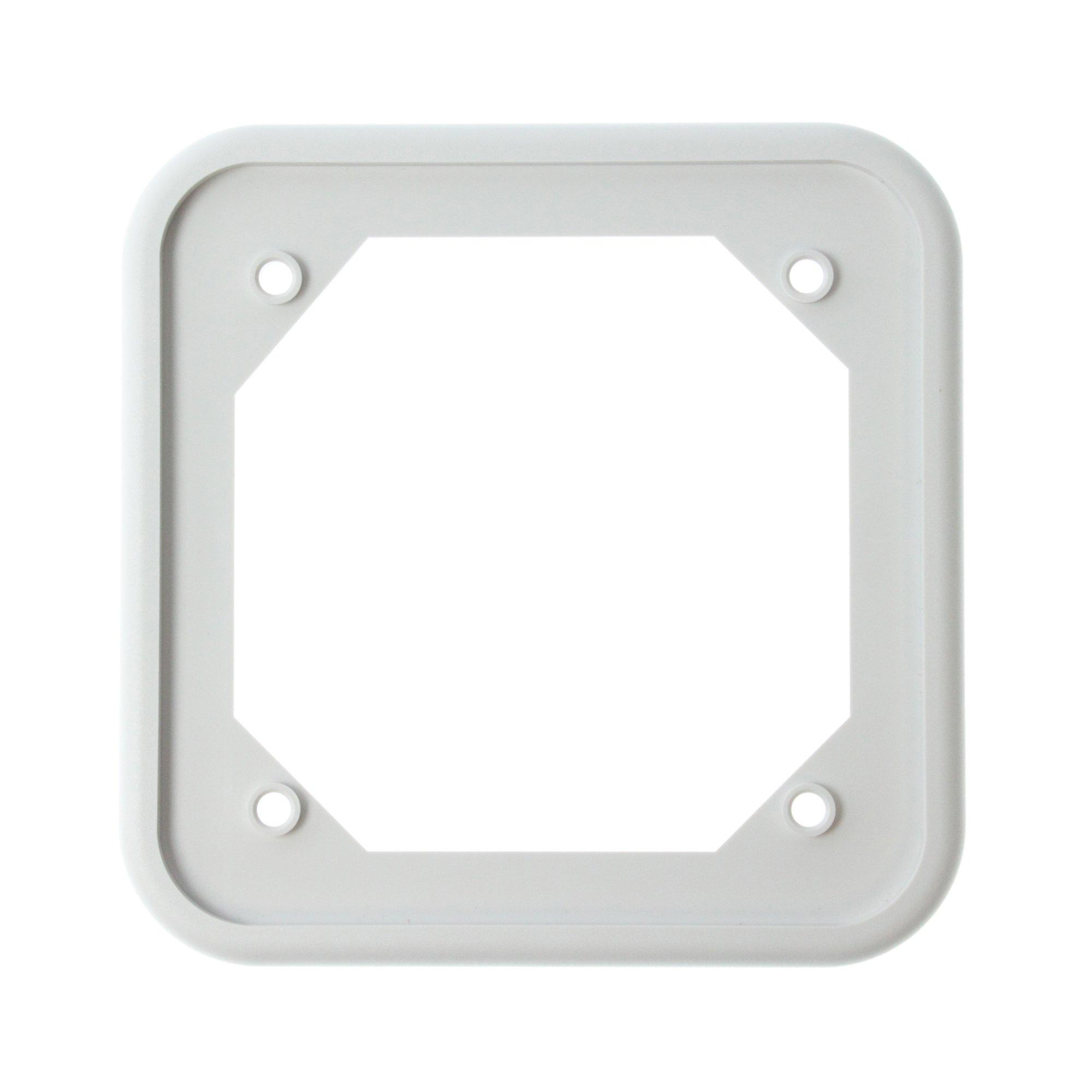System Sensor BBS-SP201W Surface Mount Back-Box Skirt for PF24V, White