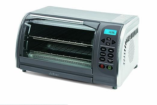 Toastess DLTO442 - Horno (Horno eléctrico, Metálico, Botones, LCD ...