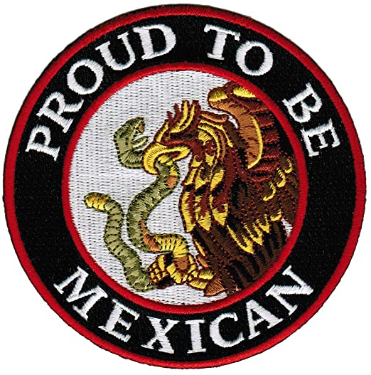 Amazon Proud To Be Mexican Embroidered Patch Mexico Flag Iron