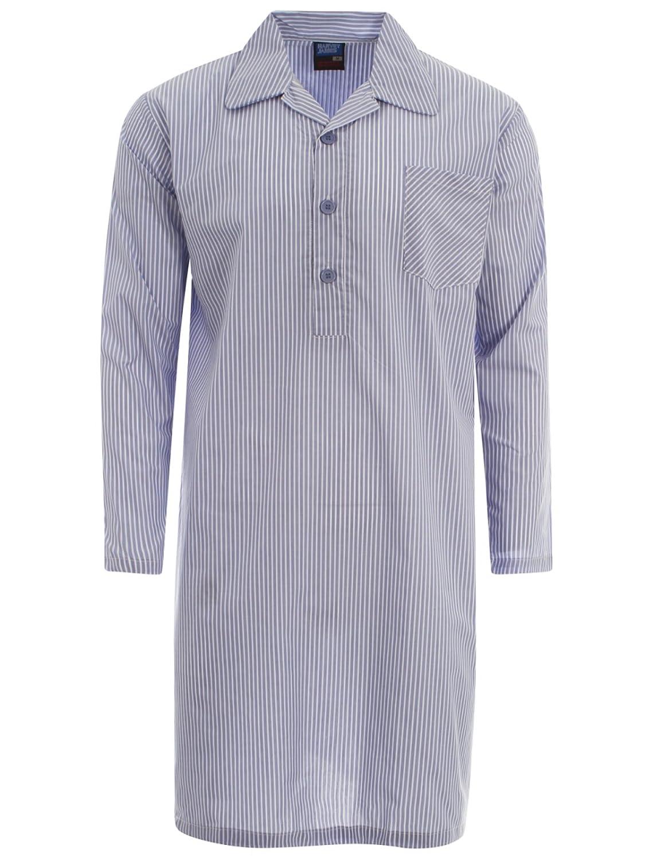 JH Mens Nightshirt Nightwear Sleepwear poly cotton M L XL XXL HJ