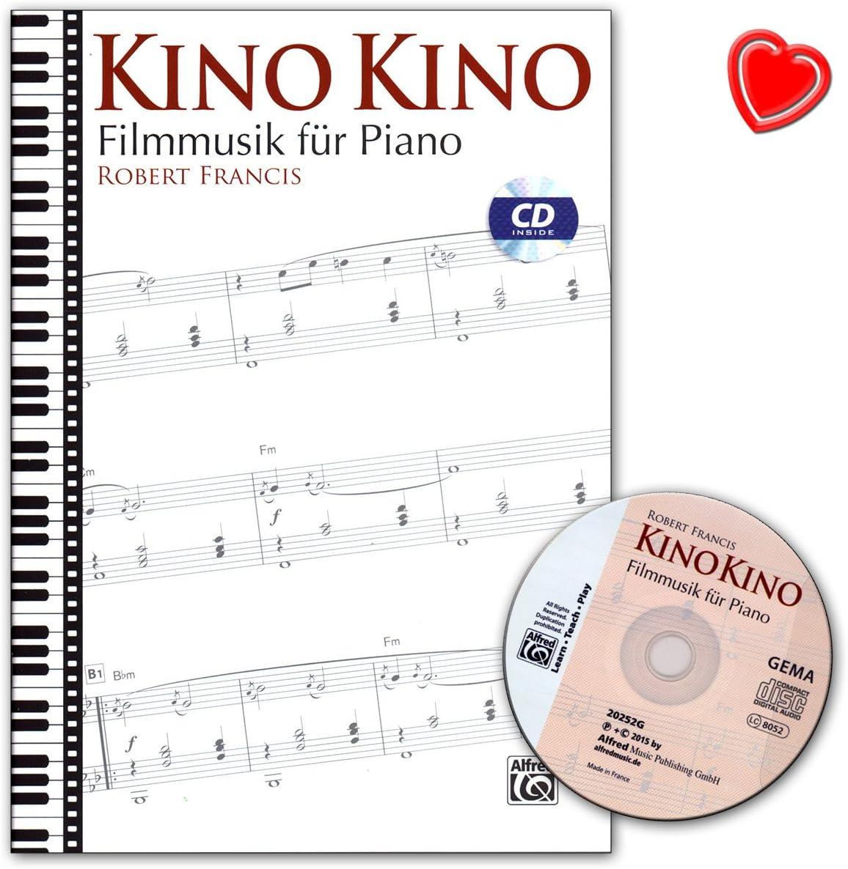Cine cine – Película Música para Piano – Partituras con CD y ...