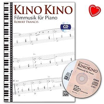 Prächtig Kino Kino - Filmmusik für Piano - Noten mit CD und bunter @DP_74