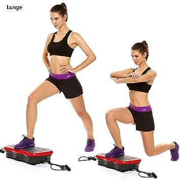 Amazon.com: Fitness plataforma de vibración toda forma de ...