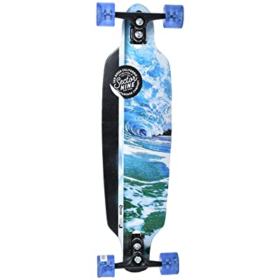"Sector 9 Sidewinder Series Mini Fractal 34"" Longboard Complete (Flux) : Sports & Outdoors"