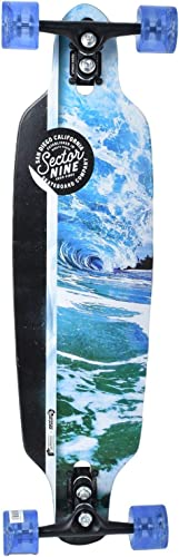Laguna Longboard Collection 36 inch Longboard Skateboards Bamboo with Hard Maple Core Cruising, Carving, Dancing, Freestyle