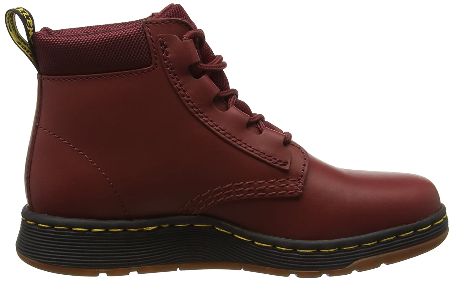 Dr. Martens Women's Telkes Fashion Boot B01MZ70I0A 5 Medium UK (7 US)|Cherry Red Temperley+sports Spacer Mesh