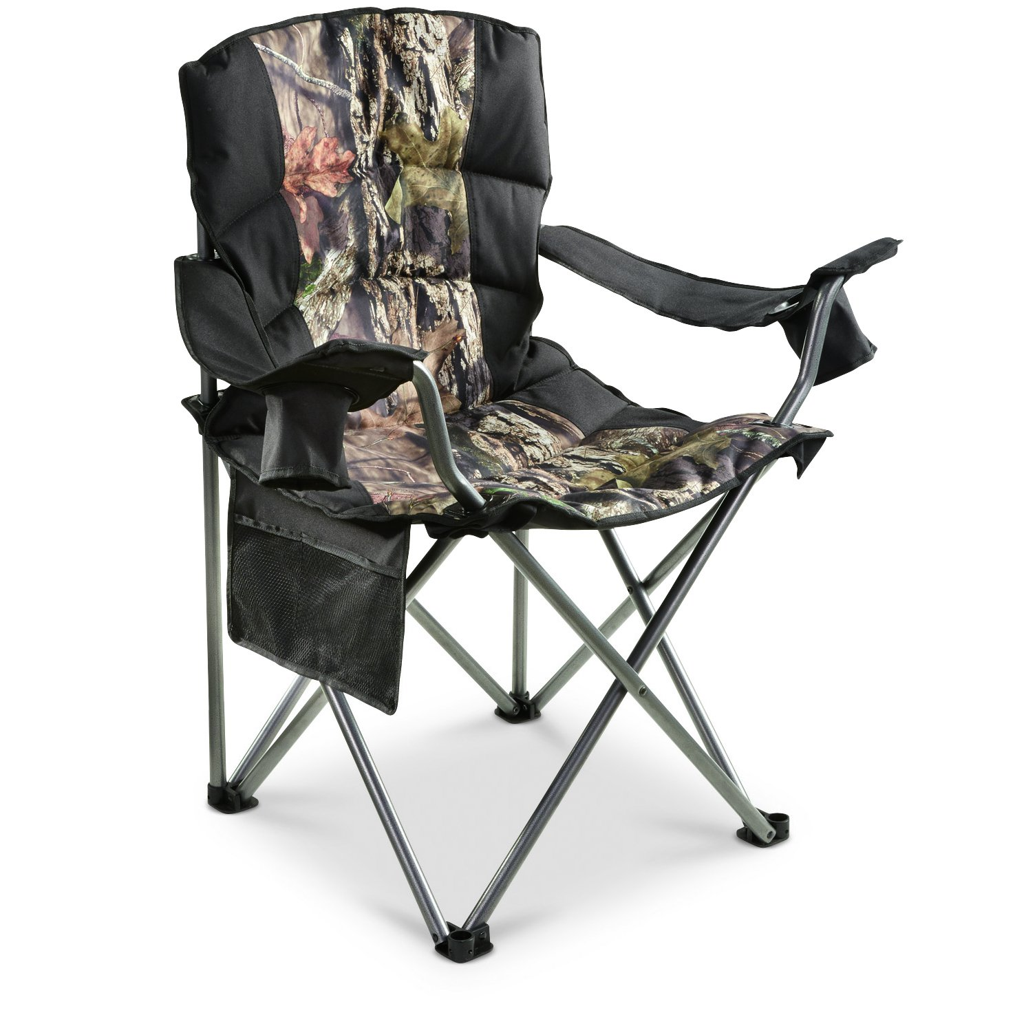 Guide Gear 500 Lbs Camo Mossy Oak C& Chair  sc 1 st  For Big And Heavy People : soccer chair with canopy - memphite.com