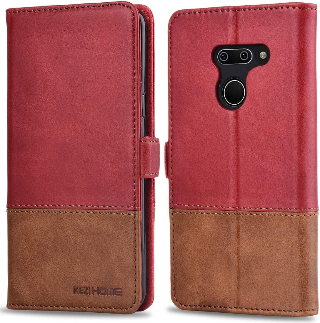 G8S ThinQ with Stand Feature Card Holder Magnetic Closure Shockproof Flip Case Cover for LG G8 G8S Lomogo Leather Wallet Case for LG G8 LOTXI150653 L2