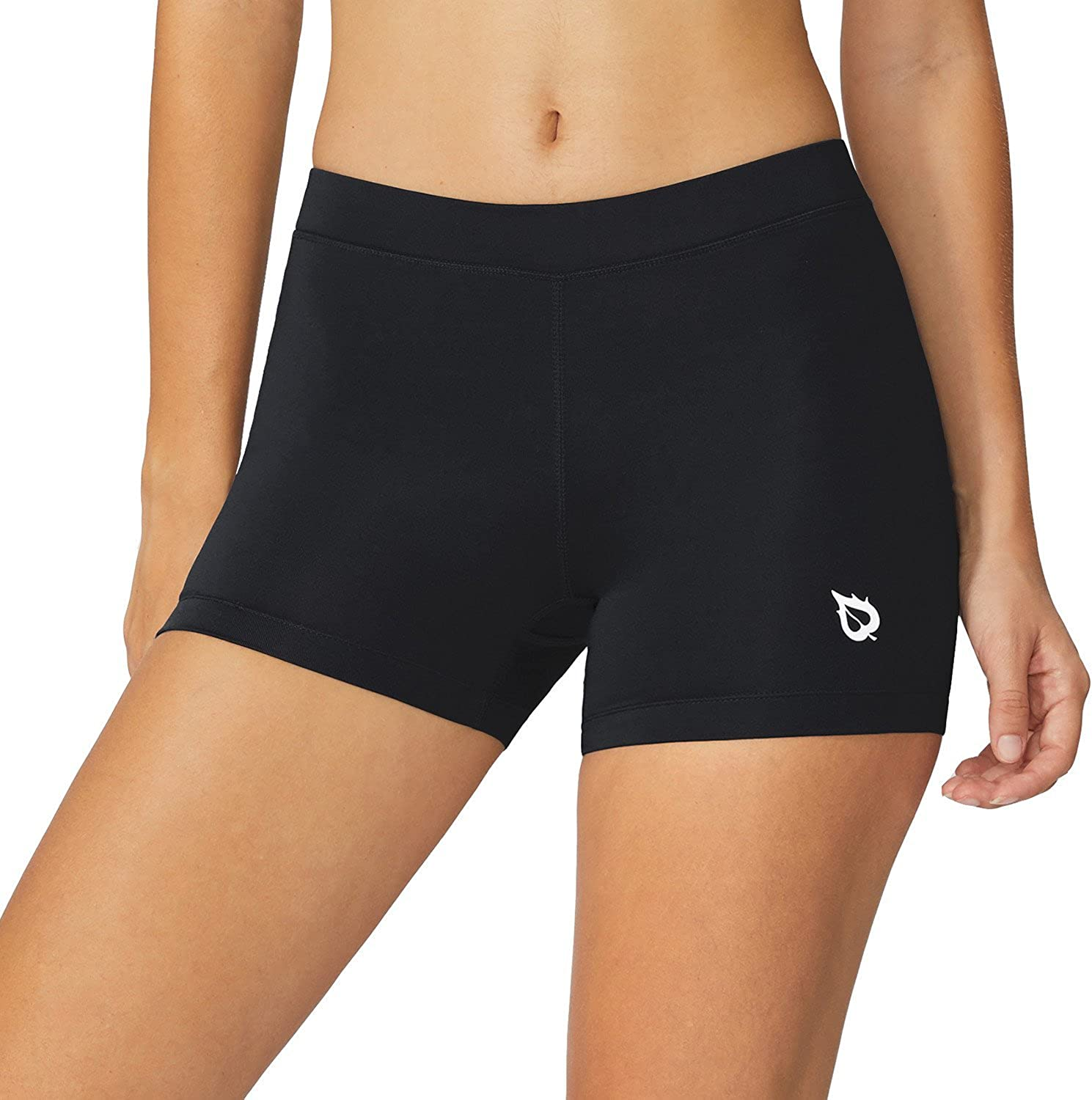 BALEAF Women's 3 Inches Active Fitness Compression Volleyball Shorts Workout Spandex : Clothing
