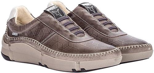 Pikolinos M1H-6200 Dark-Grey - Mocasines de Piel Lisa para Hombre: Amazon.es: Zapatos y complementos