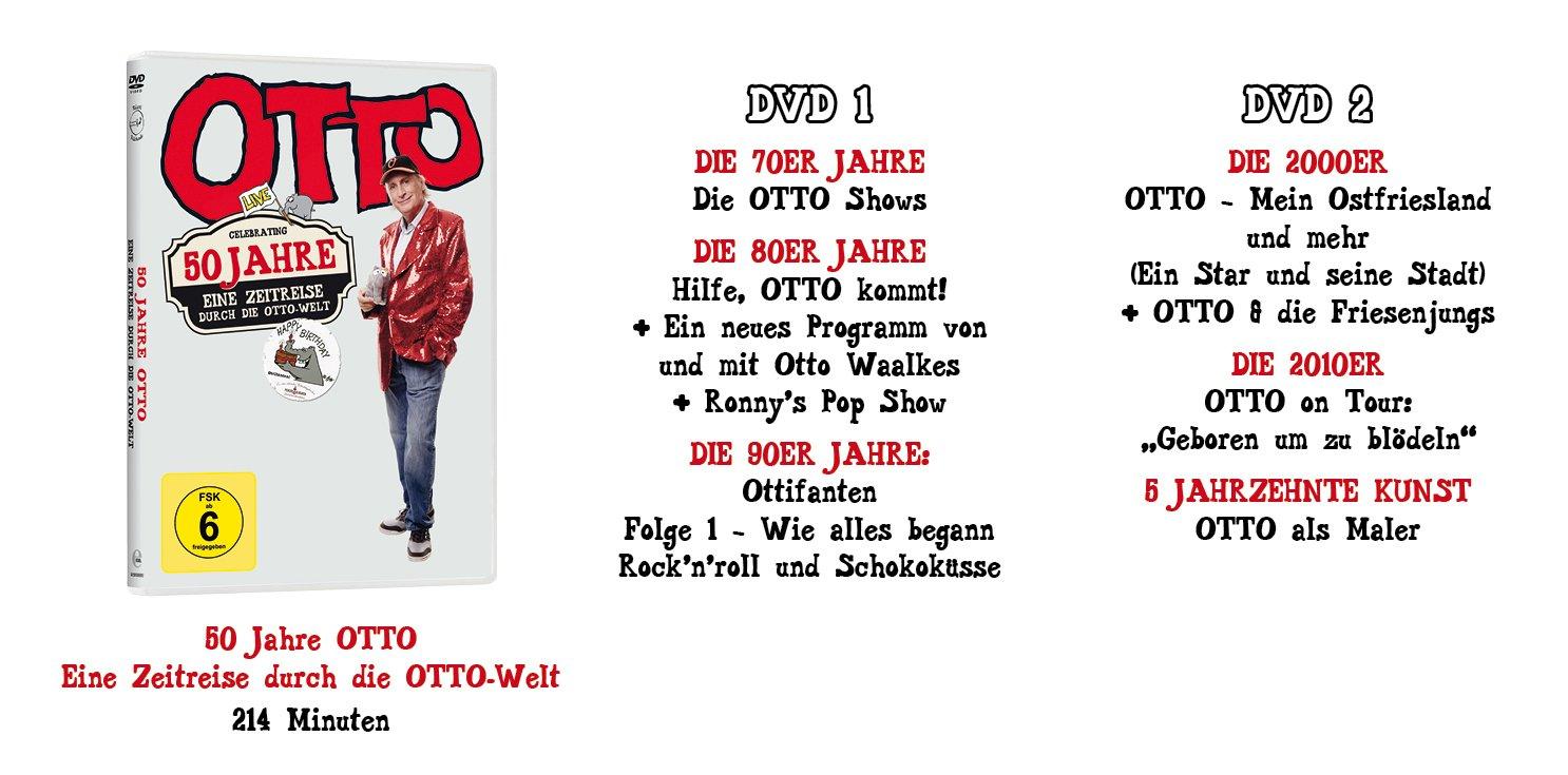 Otto 50 Jahre Bühnenjubiläum Eine Zeitreise Durch Die Otto Welt
