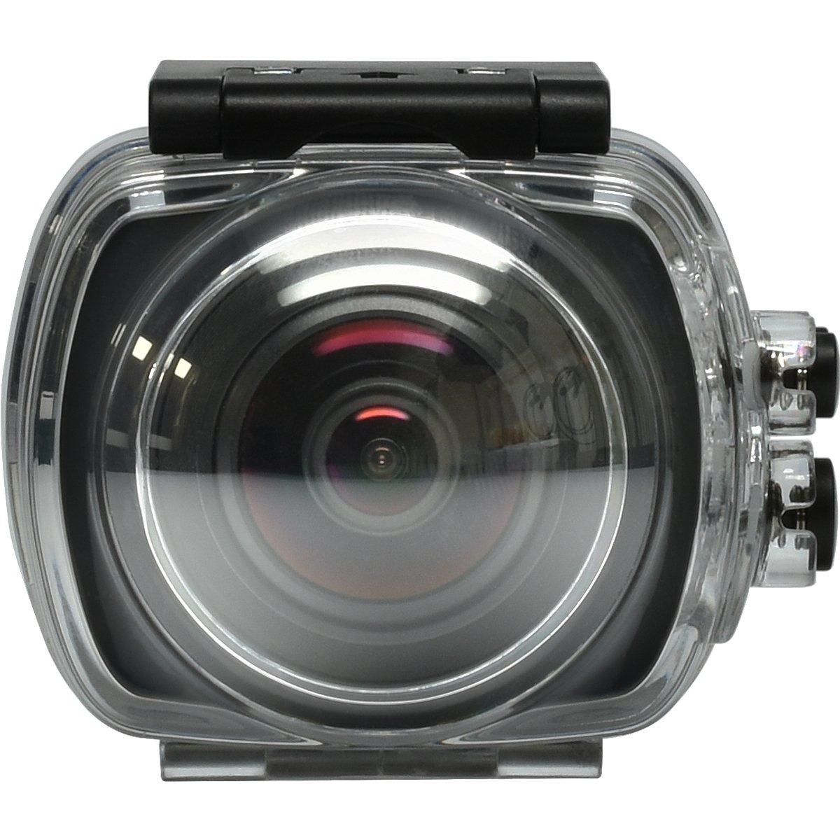 Vivitars DVR968HD 360Cam 12.1 MP Camera with 1080p Resolution DVR968HD-BLK