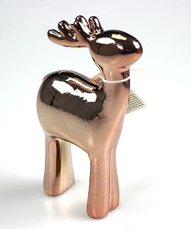Tischdeko Schrankdeko Zier Schmuck Rentier Winter Weihnachtsdeko