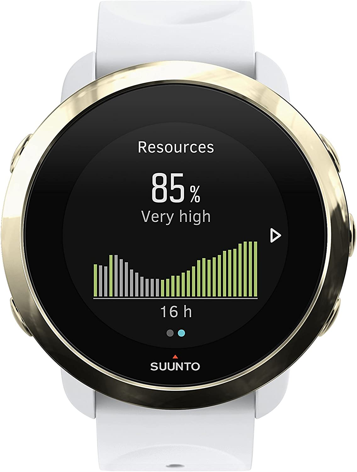 Suunto 3 Fitness Tracker Sports Watch, Gold