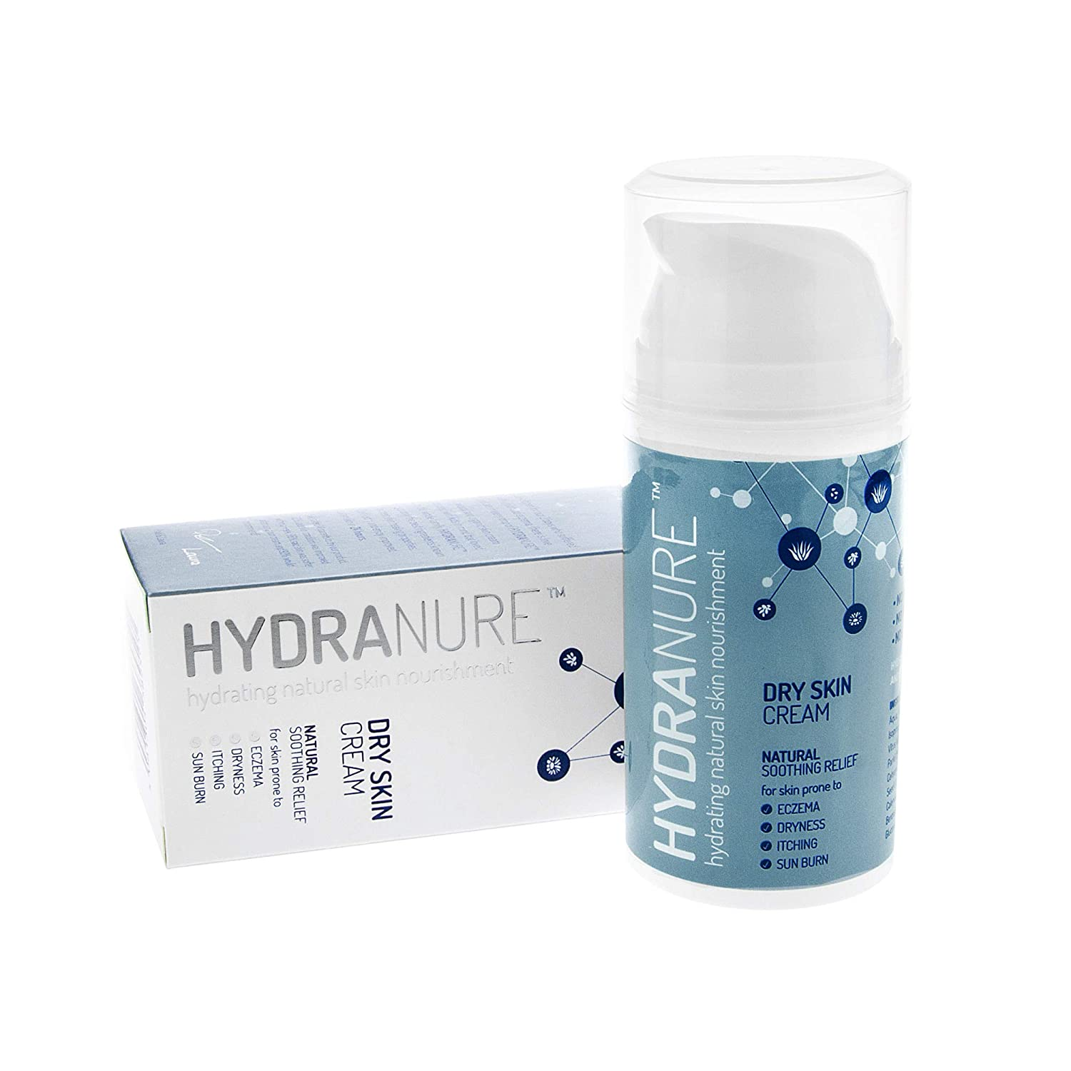 HydraNure Natural Organic Eczema Treatment for Babies 100ml – Cools Soothes  Repairs & Protects Baby's Skin, Created by Parents for Baby Eczema &