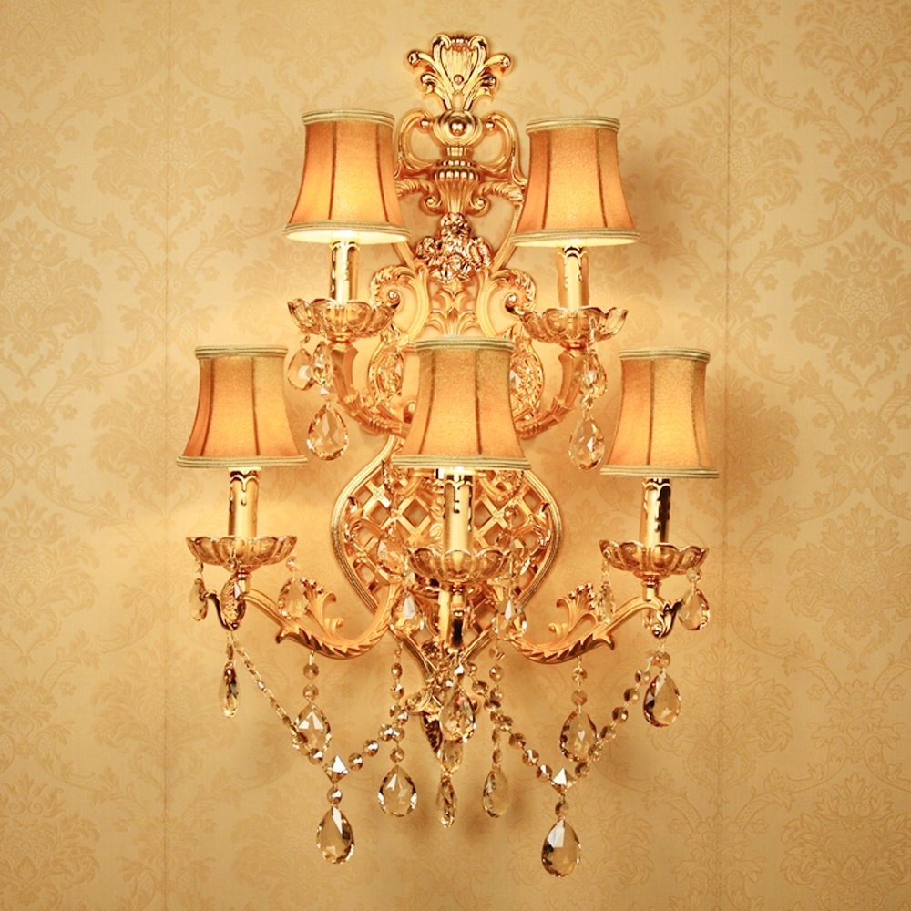 Poersi Large Wall Sconce Gold Large Wall Light Fixtures Decorative ...